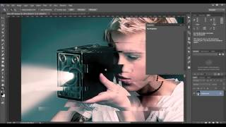 Photoshop Glitch Distortion Effect using the Displacement Filter