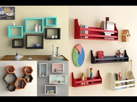 50+ creative wall shelf design ideas (AS Royal Decor)