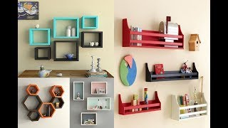 50  Creative Wall Shelf Design Ideas (as Royal Decor)