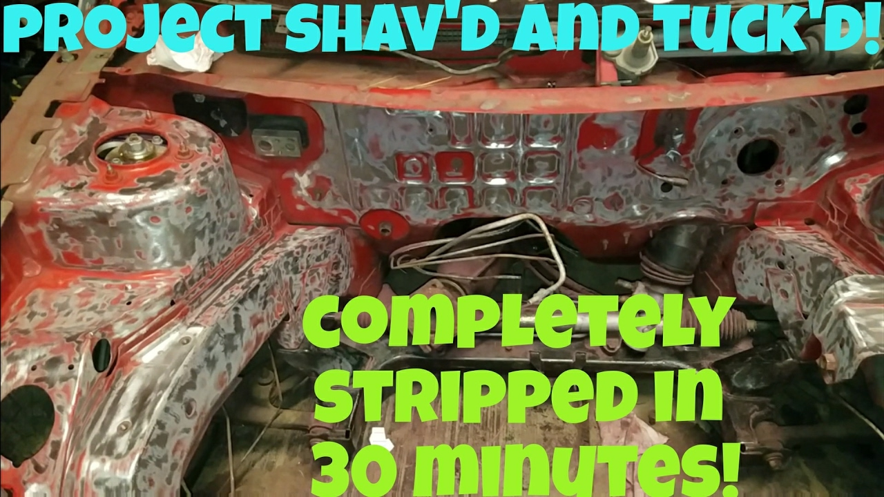 The Best Way To Strip Paint To Bare Metal Youtube