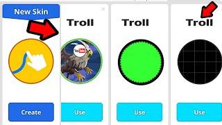 TROLLING SKINS TEAMMODE - (Agar.io Mobile Gameplay!)