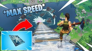 *NEW* GIANT FREEZE RAMP - Chiller Trap Ramp *MAX SPEED* Fortnite