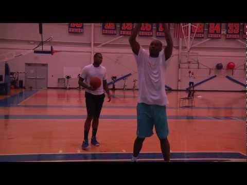 Hakeem Olajuwon & Carmelo Anthony Session NYC 2012 Part 2