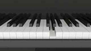 Piano Animation - Creation of a Grand Piano