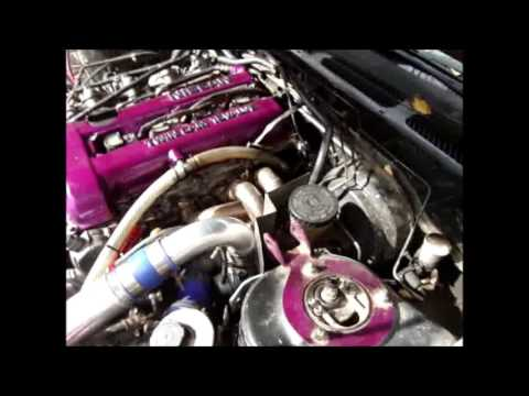 how to change sr20det / s13 240sx rear turbo coolant line behind block