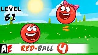 RED Ball 4 LEVEL 61 ПОДЗЕМНЫЕ ХОДЫ