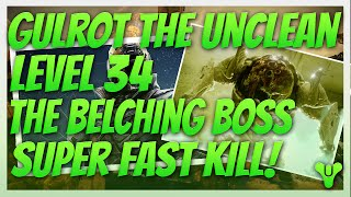 Destiny. Kill Gulrot The Unclean Spawn of the Hive. Level 34 Prison of Elders Boss