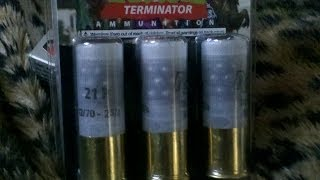 Zombie Shotgun home defense 12g rounds. Impressive