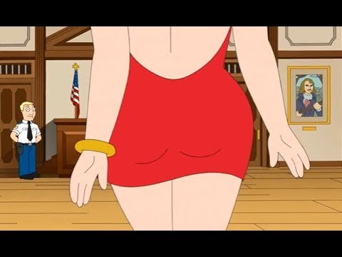 American Dad - Francine Helped Stan Escape The Crime
