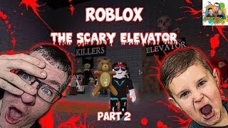 Let's Play The Scary Elevator! Point Cheat Glitch!! Roblox With Squiddy Vision HD!!!