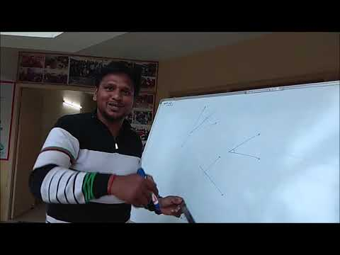 Maths Activity- How to bisect an angle without using compass, only using ruler