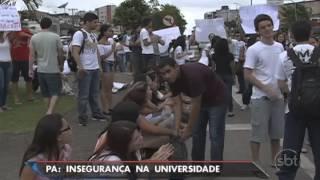 PA: Violência faz universidade suspender as aulas