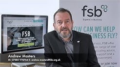 Andrew Masters - Federation Of Small Businesses - Benefits Of Joining FSB