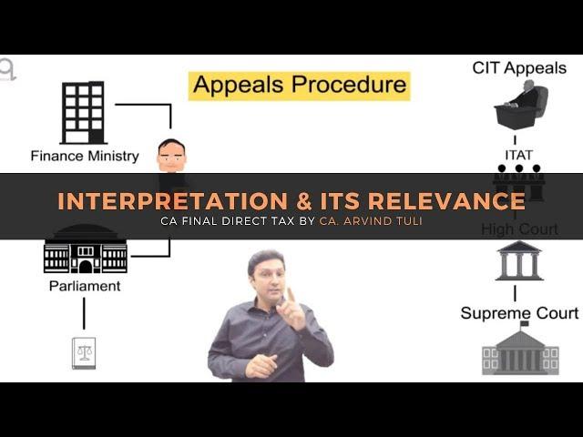 CA Final DT - May and Nov 2019 | Interpretation | Demo | in English | CA. Arvind Tuli