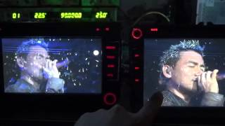 2016 New Android 5.1 OS Car DVD Player with IPS screen sample test