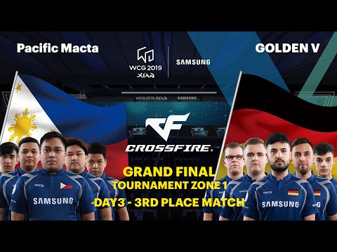 WCG 2019 Xi'an Grand Final, CrossFire 3rd Place Match Set 1, Pacific