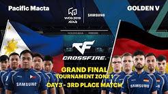 WCG 2019 GF | CrossFire 3rd Place Match Set 1 | Pacific Macta vs GOLDEN V