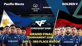 WCG 2019 Xi an Grand Final CrossFire 3rd Place Match Set 1 Pacific Macta vs GOLDEN V
