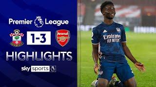 Arsenal's resurgence continues with win at Southampton | Southampton 1-3 Arsenal | EPL Highlights