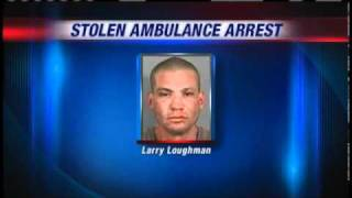 Man Accused Of Stealing Ambulance, Leading Police On Chase