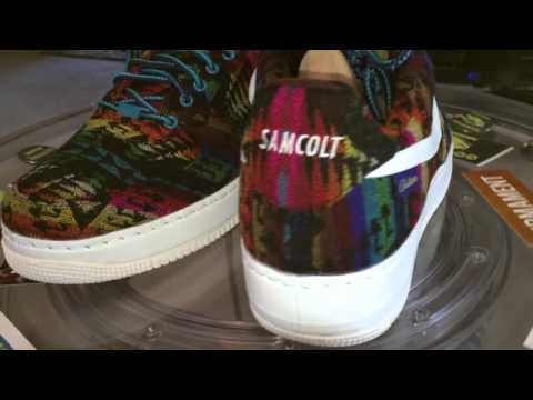nike id air force ones