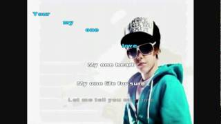 Download Justin Bieber One Time Karaoke MP3 song and Music Video