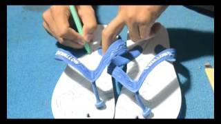 Cara Membuat Sandal Ukir Unik | Kreatif
