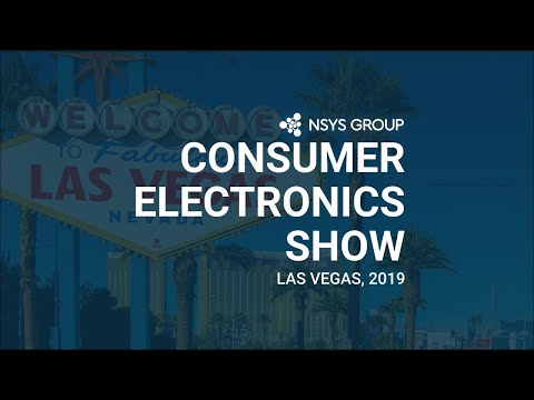 The NSYS GROUP in CES 2019, Las Vegas, Nevada