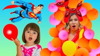 История для детей как Арина делает новые веселые платья для мамы