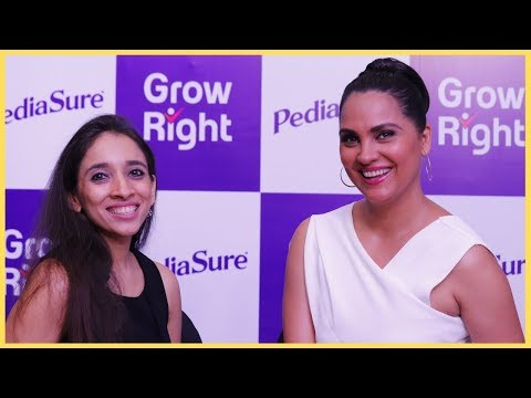 How To Get Kids To Eat Healthy, Stay Away From Screens And #GrowRight | Lara Dutta