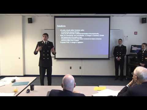 Military Ethics Case Competition 2016 - USNA Team on Bacha Bazi
