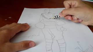 Как нарисовать карандашом  солдата(, 2016-05-25T07:46:06.000Z)