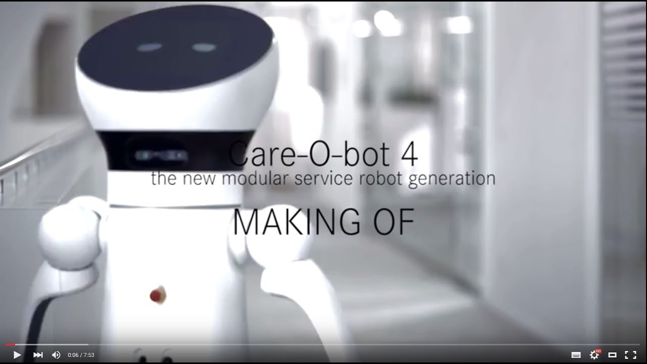 Care-O-bot® 4 – Making-of the new service robot generation