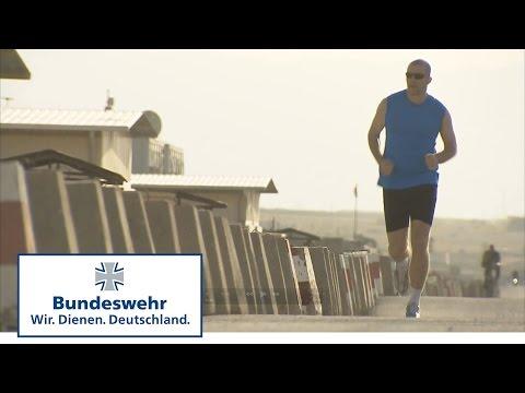Vorbereitung auf den Berlin-Marathon im Afghanistan-Einsatz - Bundeswehr
