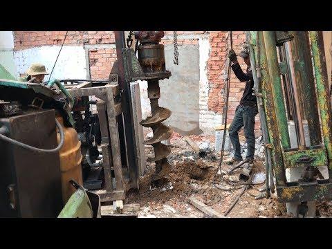 Kho Tư liệu Xây dựng - Các bước ép cọc neo áp dụng cho nhà thấp tầng trong hẻm nhỏ