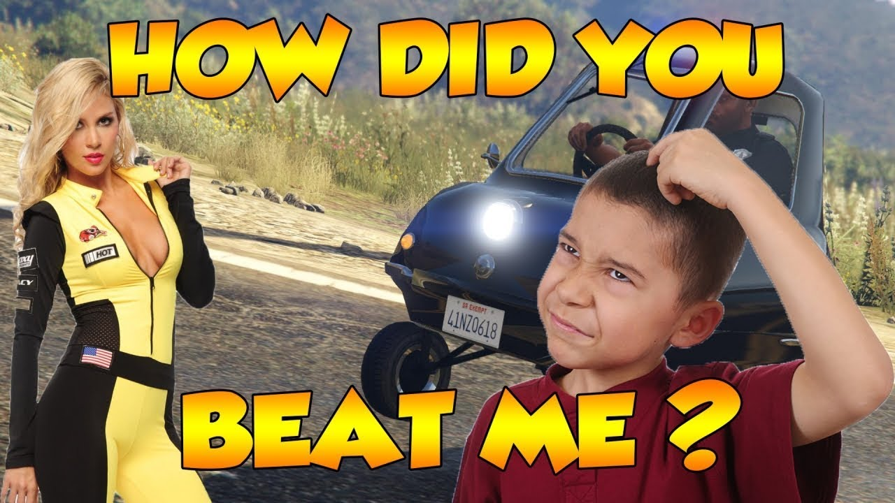 RACE CAR TROLLING WITH MODDED CARS! (GTA 5 FUNNY TROLLING ...