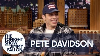 "Pete Davidson Thinks Being Engaged to Ariana Grande Is ""F***ing Lit"""