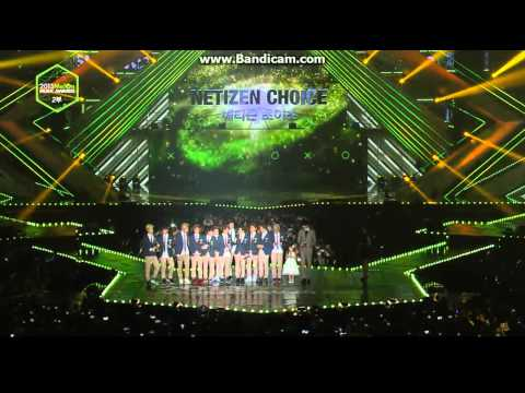 EXO WON NITIZEN CHOICE 2013 MELON MUSIC AWARDS