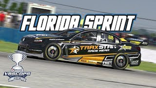 iRacing: V8SCOPS Florida Sprint - Race 2 (V8 Supercar @ Sebring)