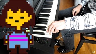 [Undertale] Ooo piano cover
