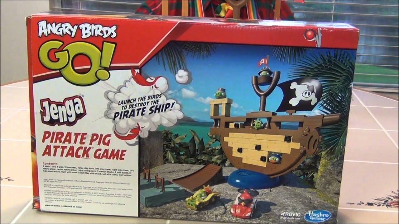 campingetrandonnee  Hasbro  A6439E240  Jeu De Société  Angry Birds Go