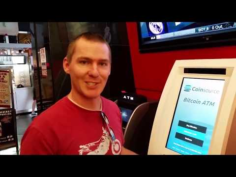 Bitcoin: Buying From A Bitcoin ATM Machine Using Cash.