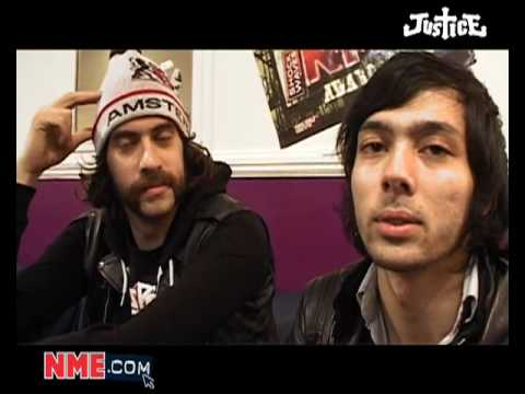 NME Video: Shockwaves NME Awards 2008 - Justice in interview