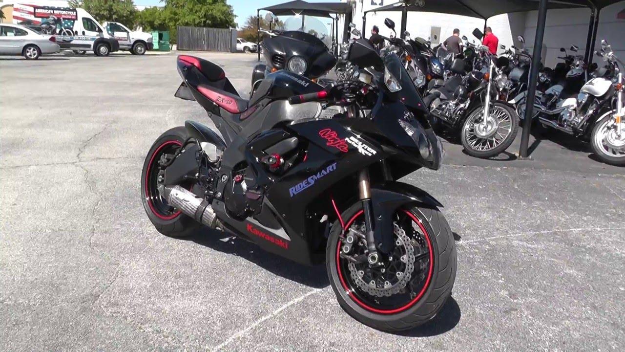 Used Kawasaki Ninja Red