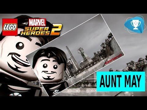 Lego Marvel Super Heroes 2 - All Aunt May Pictures For Parker