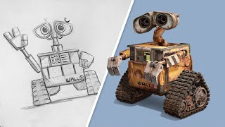 How to Draw WALLE | Draw With Pixar