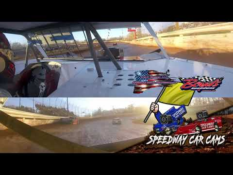 #D2 Riley Hickman - Super Late Model Feature - 2-2-20 Boyds Speedway Cabin Fever - In-Car Cam