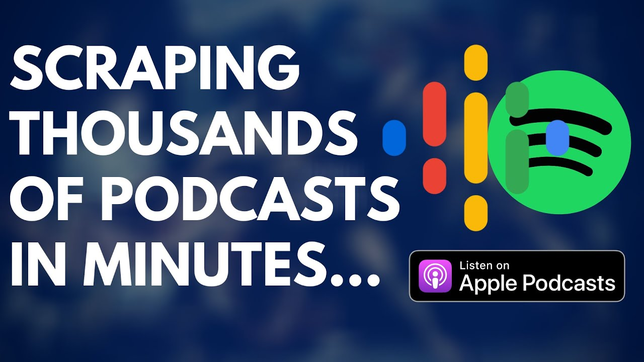 Scraping Podcasts & Emails (Libsyn, Google & Apple Podcasts) With Scrapebox 🤖
