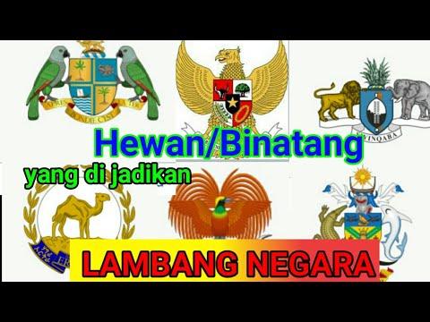 Negara Negara yang memakai hewan atau binatang untuk di jadikan lambang NEGARA nya