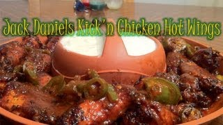 Jack Daniels Kickn Chicken Hot Wings Recipe